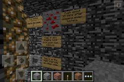 Minecraft PE Map: Minecraft Walls - Download Site For Apps (Beta)
